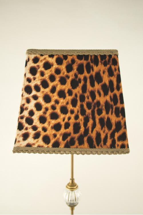Pantalla cuadrada leopardo